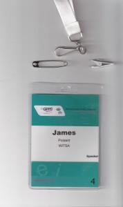 Sample badge