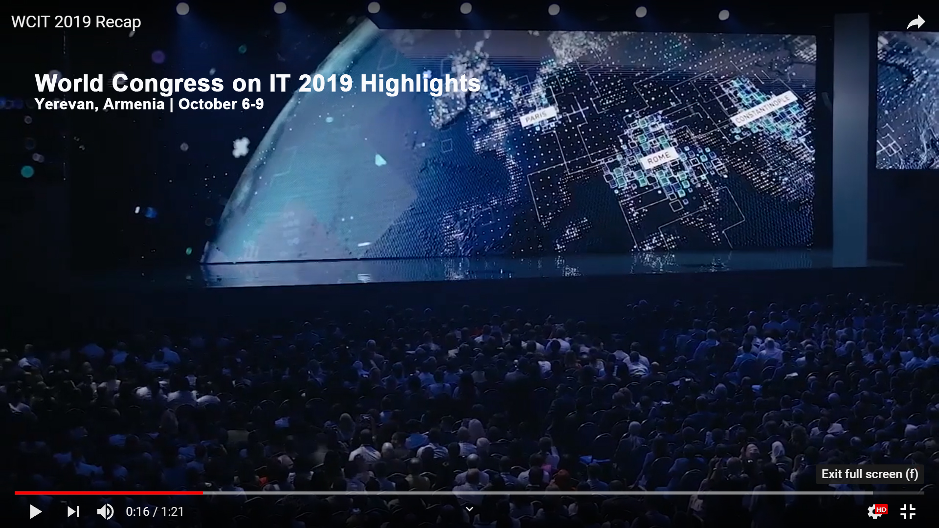 WCIT 2019 Highlight Recap