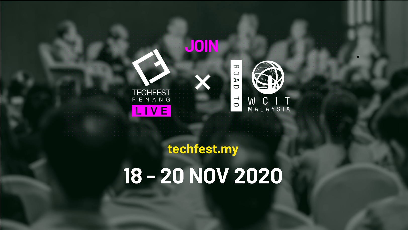 ROAD-TO-WCIT Malaysia is a highlight of the TECHFEST LIVE and it features the latest technology and innovation conversations and the 2020 Global ICT Excellence Awards